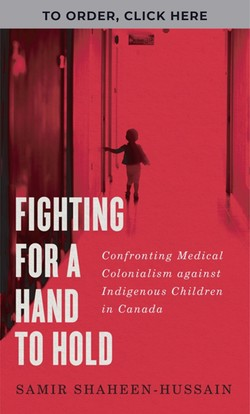 Cover of Fighting for A Hand to Hold, with banner at top saying TO ORDER, CLICK HERE